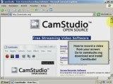 Desktop aufnehmen mit Camstudio 2