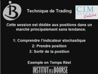 Le Stochastique : Technique de Trading