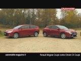 Renault Mégane Coupé contre Citroën C4 Coupé