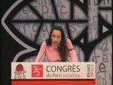 Lynda Belhadi au congrès du Parti Socialiste de Reims 2008