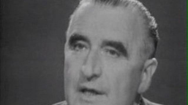 Georges Pompidou 1er ministre 1967/06