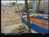 Arrivée 4 du Biche à Lorient 1er août 2006