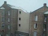 23 Novembre 2008 - Neige ds le Nord de la France