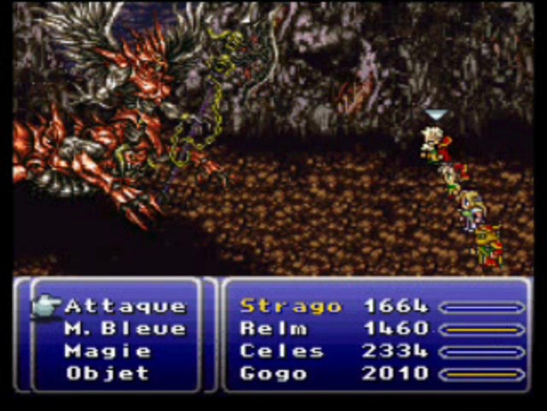 Final Fantasy VI Walkthrough 75/ Bosses et bosses