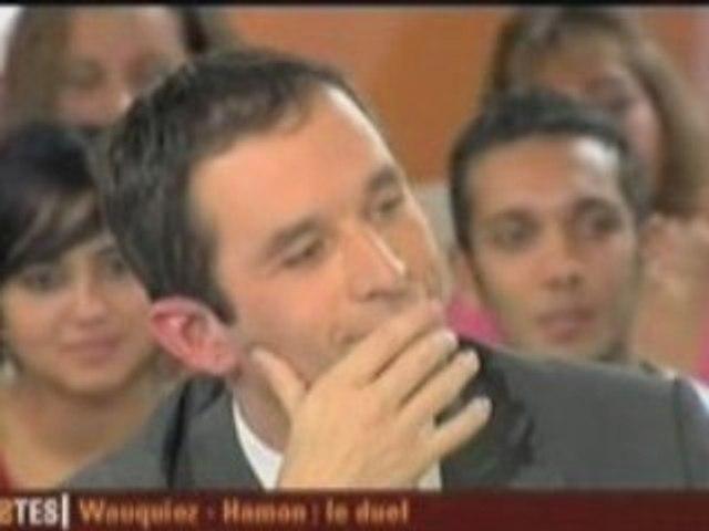 Benoît Hamon / Laurent Wauquiez