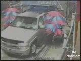 Régis lave sa voiture