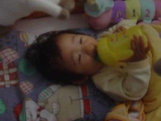 Kimina likes drinking