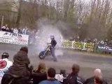 Burn enervé salon de la moto de TOURNAI 2007