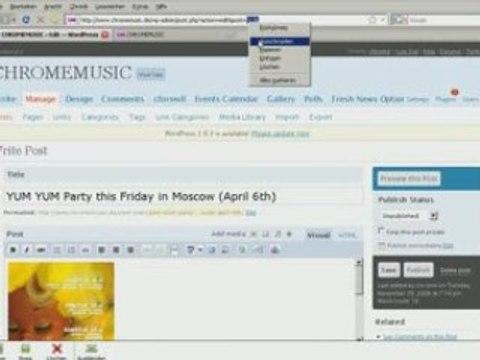 Chrome-event