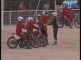 Match de Motoball France-Allemagne a Valreas