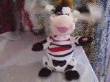 Peluche automate vache funny