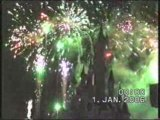 Disneyland reveillon 2005 feu d'artifice