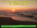Baltimore best plastic or cosmetic surgeons 888-520-3621
