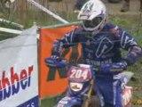 Clip Vidéo Enduro de David Frétigné au CDF à Gyé 2008