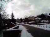 quand il a pas de neige sa glisse aussi !!!!!