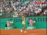 Roland Garros 2006 - Vaidisova vs Mauresmo 2/8