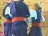 Aïkidô d'un maître zen, élève de Kobayashi shihan.