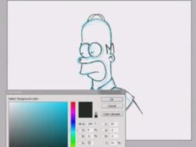 Simpson Painting Video Dailymotion