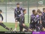 Sport / Foot : Toulouse - Marseille au Stadium