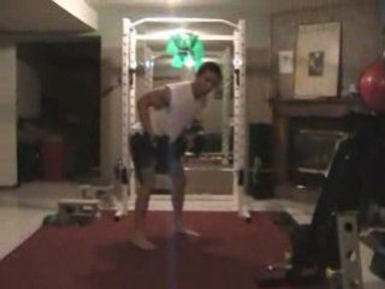 MMA Workout - Dumbbell Shoulder Strength Endurance Complex