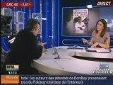 Pelloux greve urgences decembre 2008 BFM tv