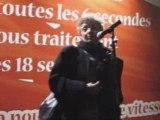 Discours de Francoise Barré-Sinoussi, Prix Nobel de Médecine