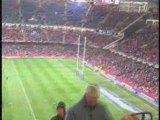 Land Of My Fathers At Millennium Stadium