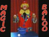 Magic'Baloo le clown magicien