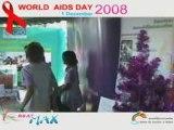 วันเอดส์โลก 2008 โดย สมาคมฟ้าสี�