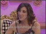 """Nuria Fergó entrevistada en """"Paz  en la tierra"""""""