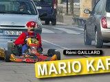 Mario Kart !! en réél xD