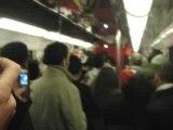 France Maroc 2-2 : ambiance métro
