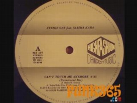 Strike one Feat. Sabiha Kara- Can't touch me anymore - 1984