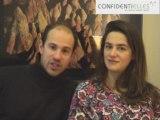 Interview de Mathilde et Edouard Cortes  par Confidentielles