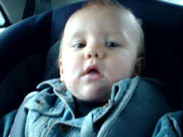 Evan en voiture