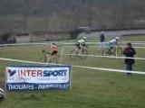 Championnat régional cyclo cross a Thouars