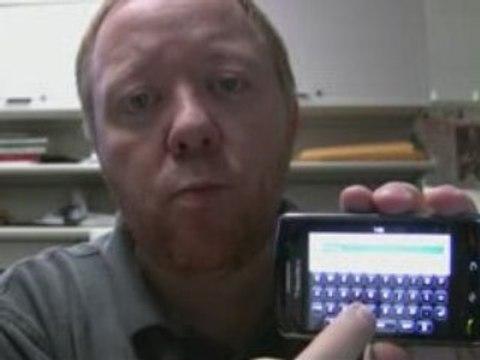 Le BlackBerry Storm