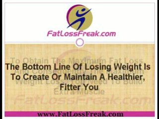 Weight Watchers | Use Weight To Lose Weight