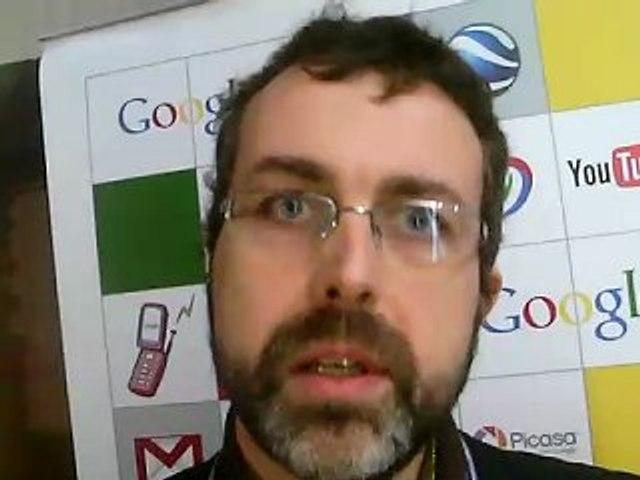 LeWeb08 - Google - Jean-François Wassong