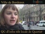 Manif à Bordeaux des lycées contre la loi darcos