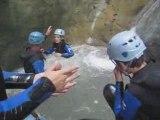 Canyoning au rio sourd Drôme Vercors
