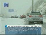 Temporal de frío y nieve en el norte y centro del país