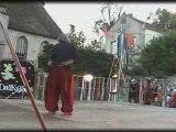 fète medieval d'asnières ss oise 2008: spectacle drakocioles