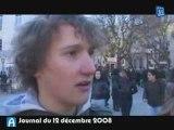 Nîmes : Projet Darcos, Les lycéens ne se laissent pas faire