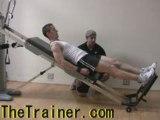 Total Gym Iso Squats - Single Leg Squat on GTS