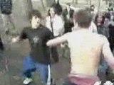 Combat lycéens anglais