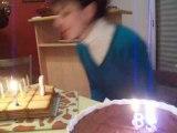Le week end de ouf part-49 les bougies magiques 13-12-2008