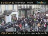 Mardi 16.12.Manif des lyceens dans les Rues de Bordeaux