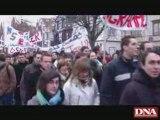 Manifestation des étudiants de l'IUT Colmar