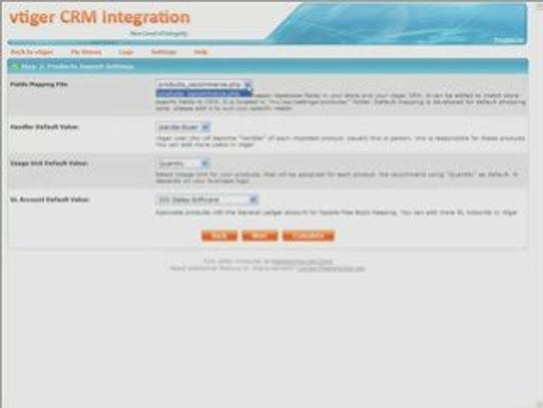 vtiger CRM Integration - Step-by-Step Tutorial